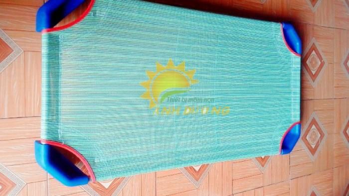 Chuyên cung cấp giường ngủ lưới thoáng mát cho trường lớp mầm non, gia đính2