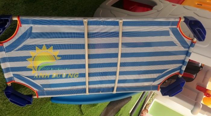 Chuyên cung cấp giường ngủ lưới thoáng mát cho trường lớp mầm non, gia đính4