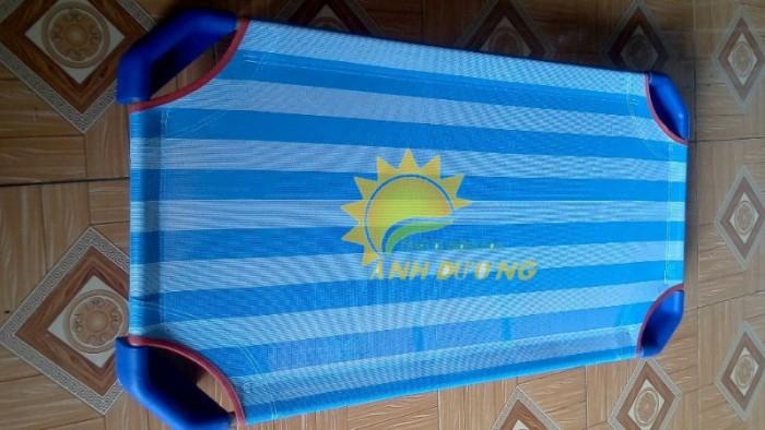 Chuyên cung cấp giường ngủ lưới thoáng mát cho trường lớp mầm non, gia đính3