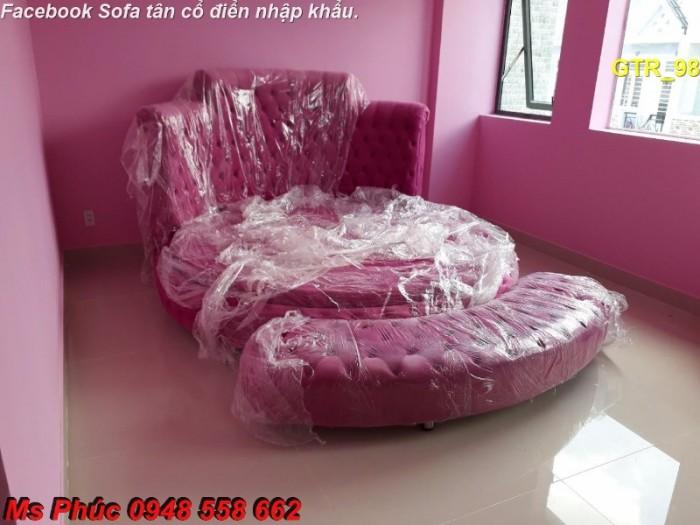 giường ngủ hình tròn giá rẻ