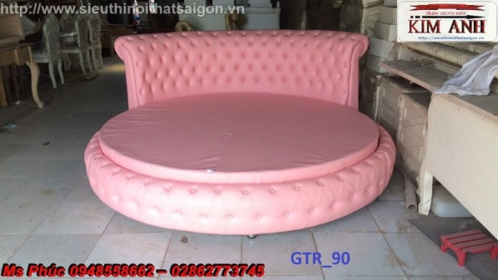 giường tròn sành điệu