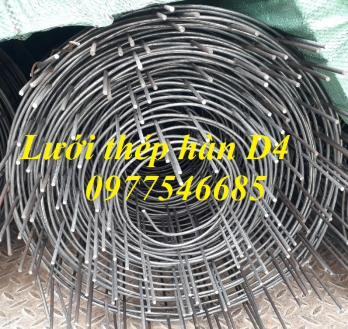 Lưới thép hàn chập D4a150x150,lưới thép hàn đổ sàn2