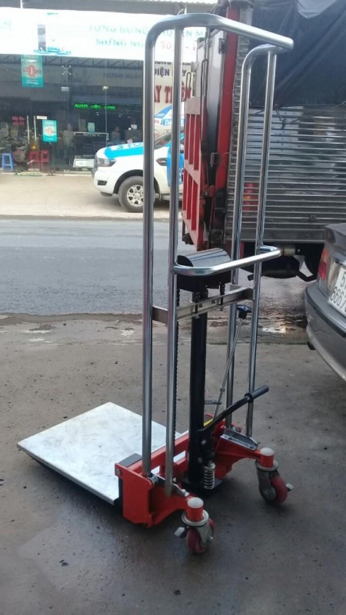 XE NÂNG TAY CAO Model: SDDJ 1500 Tải trọng: 400kg  Chiều cao nâng thấp nhất: 90mm Chiều cao nâng cao nhất: 1500mm2