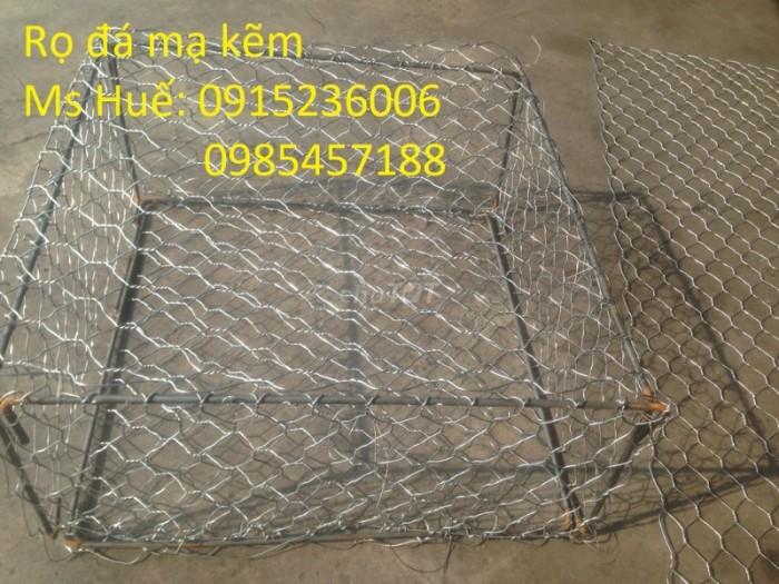 Nhật Minh Hiếu sản xuất Rọ Đá mạ kẽm, Rọ đá bọc nhựa theo yêu cầu khách hàng2