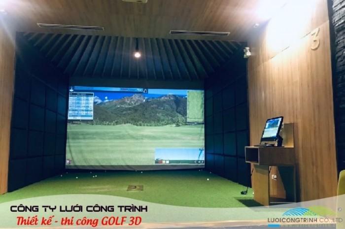 Chuyên thi công phòng Golf 3D chuẩn Hàn Quốc0