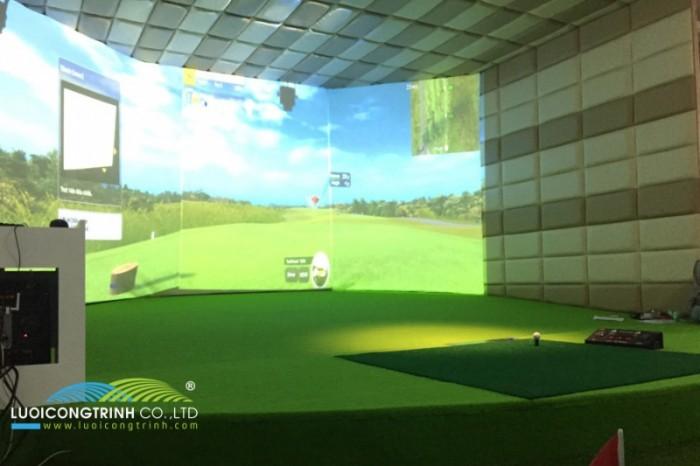 Chuyên thi công phòng Golf 3D chuẩn Hàn Quốc3