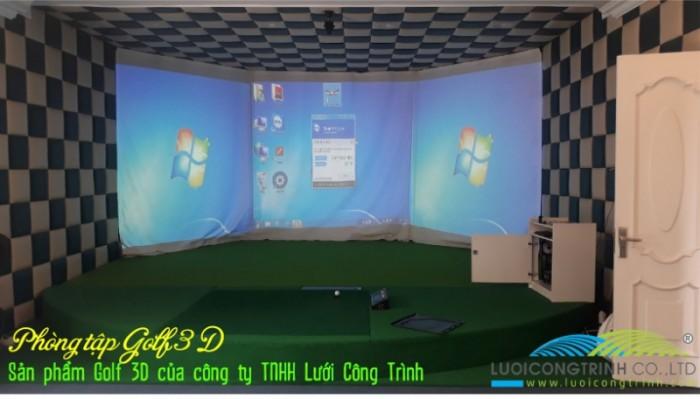 Chuyên thi công phòng Golf 3D chuẩn Hàn Quốc2