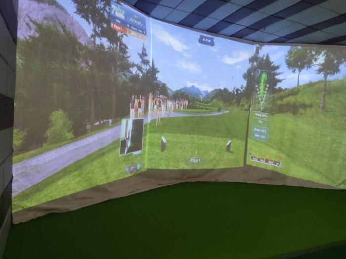 Chuyên thi công phòng Golf 3D chuẩn Hàn Quốc5