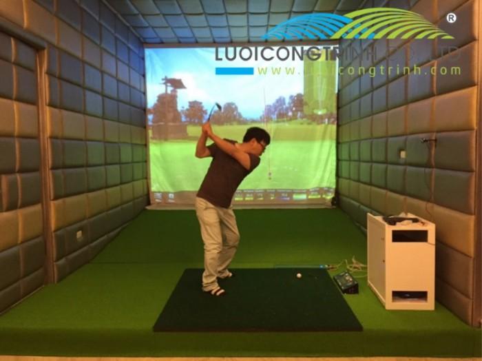 Chuyên thi công phòng Golf 3D chuẩn Hàn Quốc4