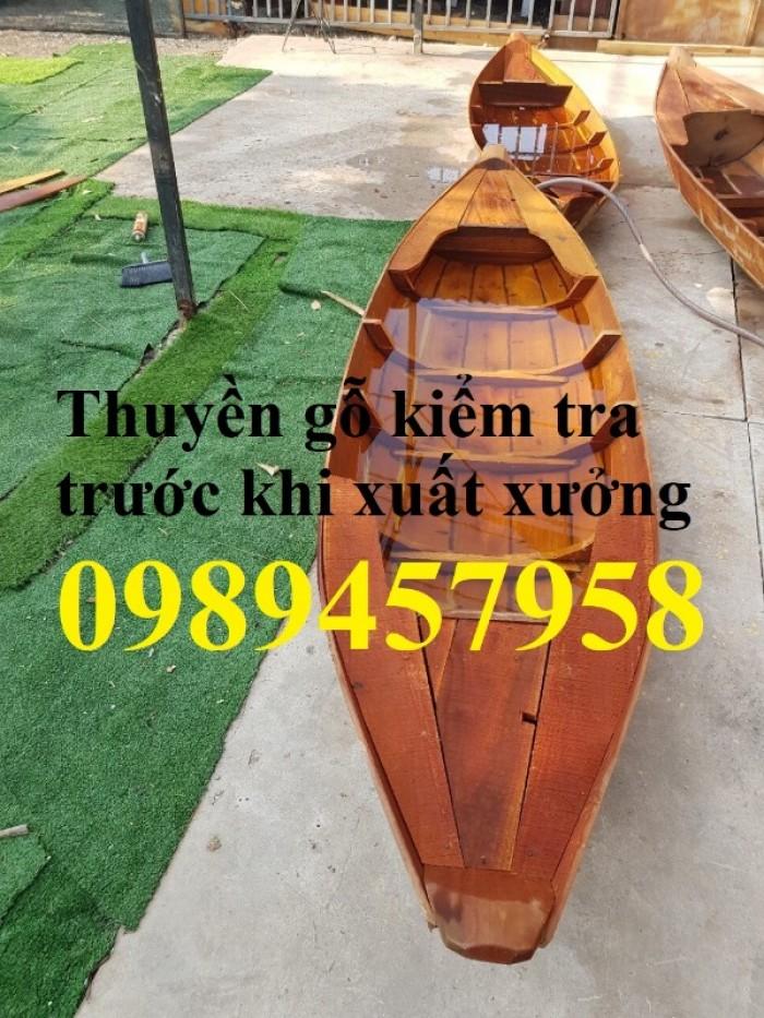 Đóng xuồng ba lá, xuồng gỗ, thuyền gỗ 2m, 2,3m, 3m giao tận nơi2