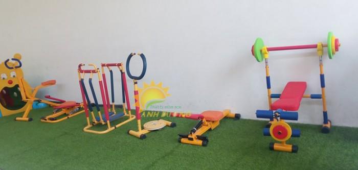 Dụng cụ tập gym dành cho trẻ em mầm non giá cực ƯU ĐÃI0