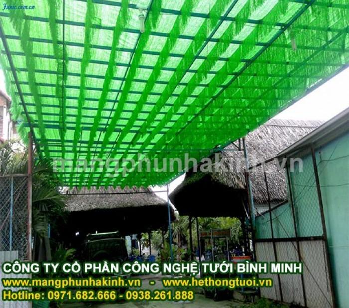 Lưới che lan, lưới che nắng vườn lan hà nội, lưới che giảm nắng, lưới cắt nắn1