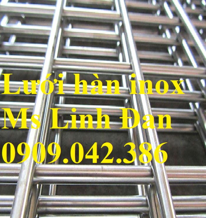 Lưới hàn inox, lưới hàn inox ô vuông, chuyên cung cấp lưới hàn inox, lưới hàn0