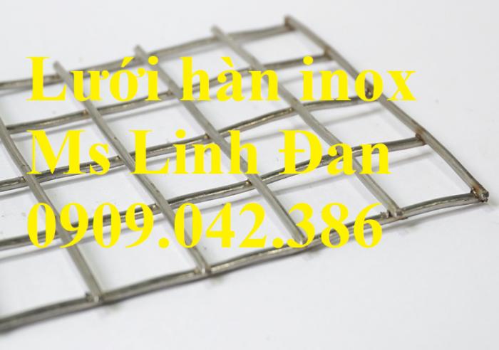 Lưới hàn inox, lưới hàn inox ô vuông, chuyên cung cấp lưới hàn inox, lưới hàn4