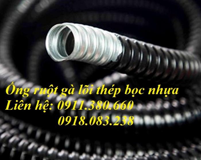 Ống ruột gà lõi thép bọc nhựa PVC phi 16, phi 20, phi 25, phi 32, phi 38, ...1