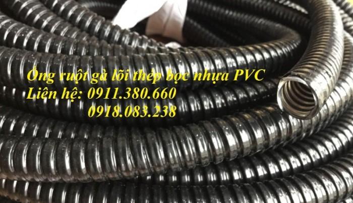 Ống ruột gà lõi thép bọc nhựa PVC phi 16, phi 20, phi 25, phi 32, phi 38, ...0