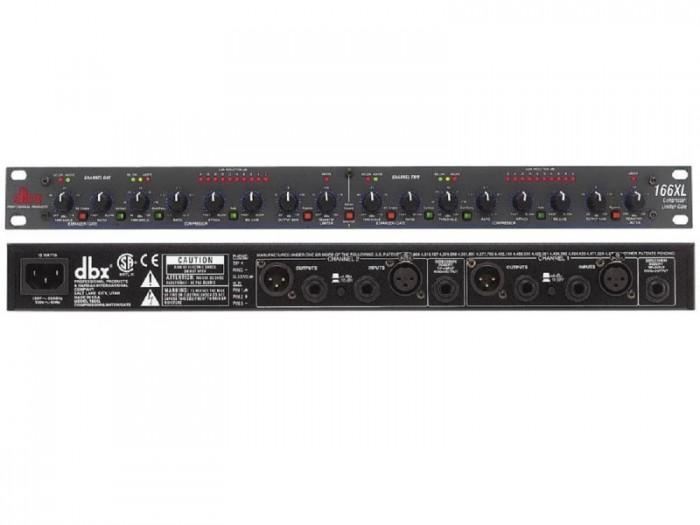 Mixer nén tiếng DBX-166XL Lọc mịn âm thanh, tạo độ ấm, chuẩn, chắc tiếng1
