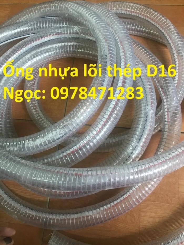 Ống nhựa mềm lõi kẽm D90, D100, D150, D200 - ống dẫn hóa chất xăng dầu, nước.1