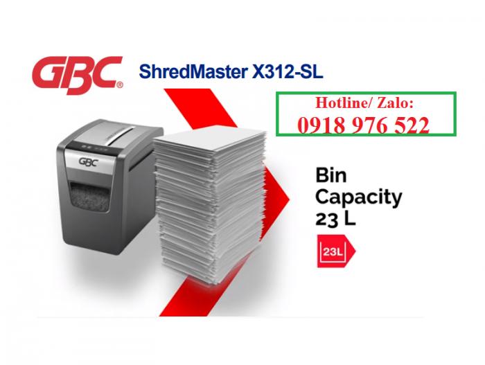 Máy hủy tài liệu GBC Shredmaster X3121