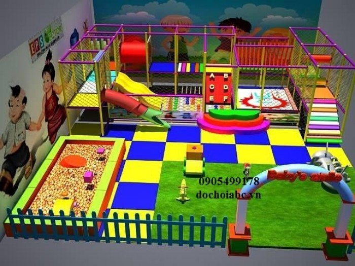 nhận thi công thiết kế khu vui chơi liên hoàn tại hội an13