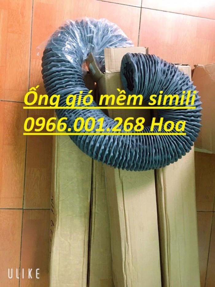 Ống gió mềm vải simili chịu nhiệt D40,D50,D60,D75,D100 D115 giá tốt nhất0