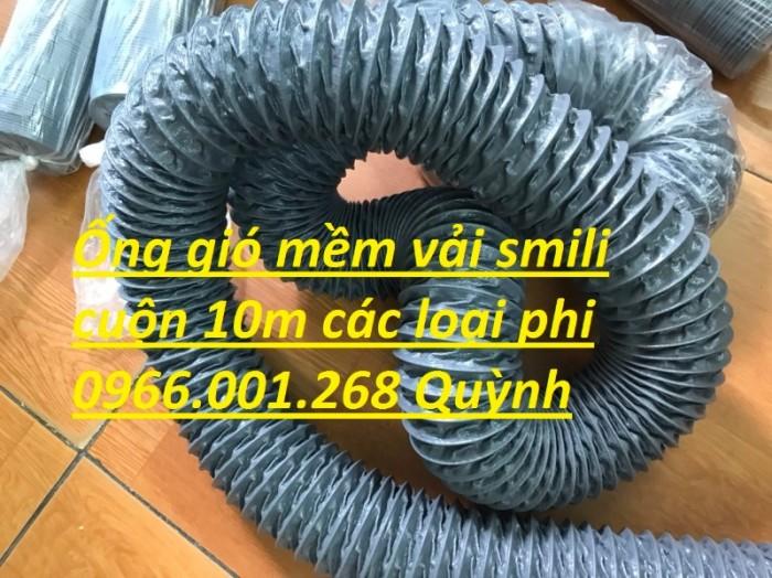 Ống gió mềm vải simili chịu nhiệt D40,D50,D60,D75,D100 D115 giá tốt nhất1