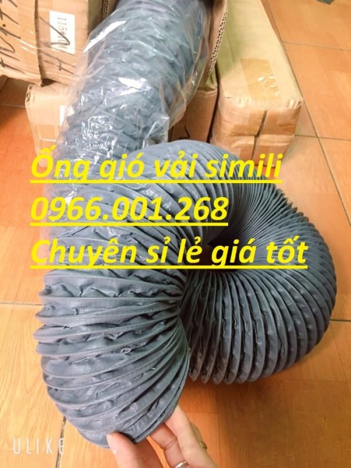 Ống gió mềm vải simili chịu nhiệt D40,D50,D60,D75,D100 D115 giá tốt nhất4