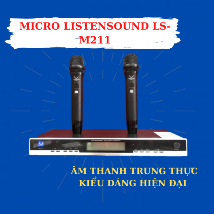 Ảnh Micro Listensound LS - M2111