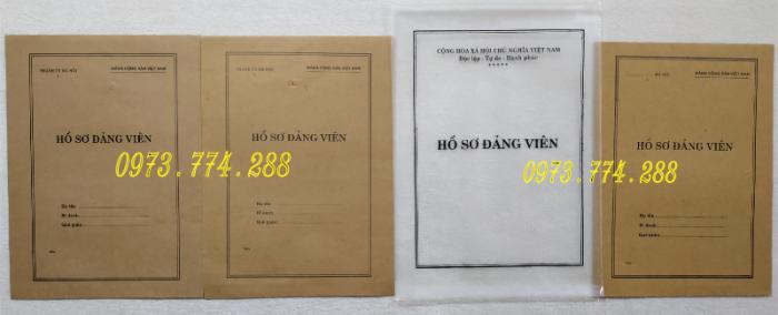 Bán cuốn lý lịch Đảng viên (24 trang, 28 trang và 32 trang)13