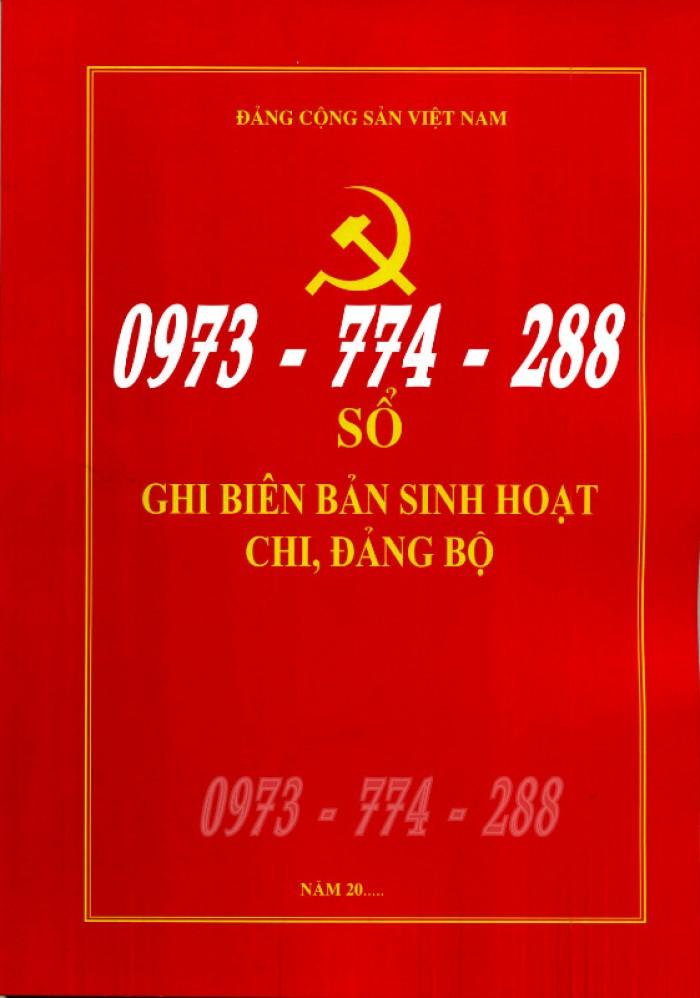 Bán lý lịch của người  xin vào đảng gồm có quyển bìa trắng, bìa xanh, bìa màu búa liềm21