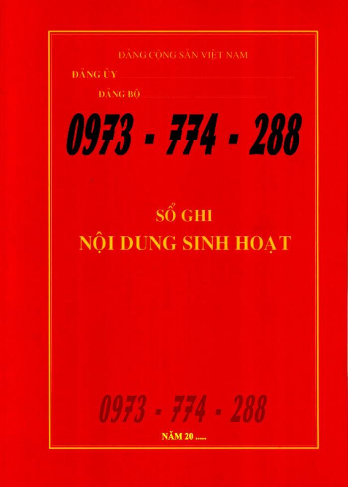 Bán lý lịch của người  xin vào đảng gồm có quyển bìa trắng, bìa xanh, bìa màu búa liềm23