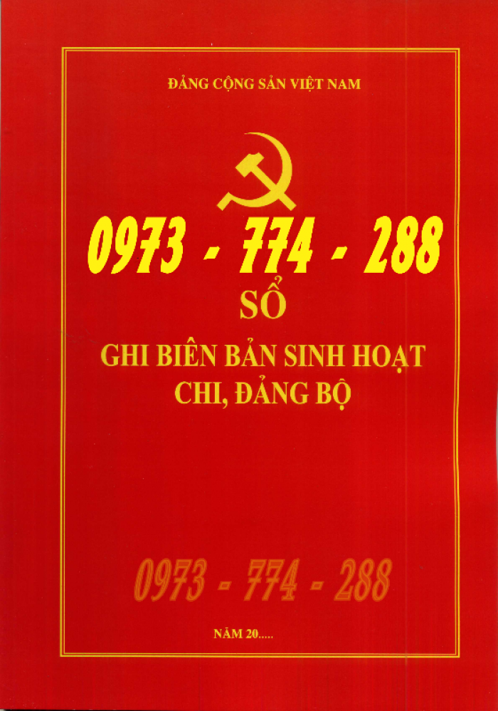 Bán quyển lý lịch Đảng viên24