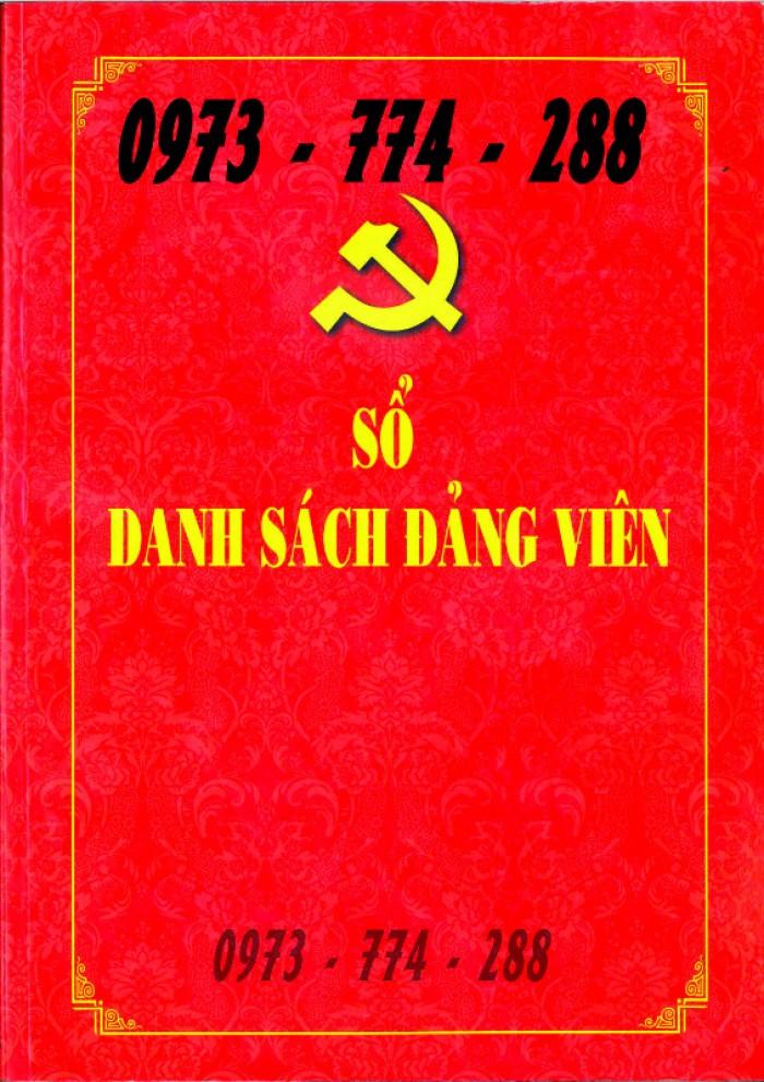 Lý lịch Đảng viên mẫu 1 - HSĐV quyển bìa màu xanh31