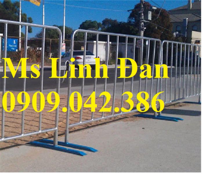 Lưới thép hàng rào di động chắn đám đông, lưới thép hàng rào di động5