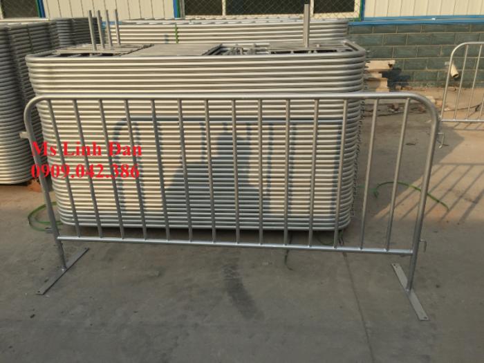 Lưới thép hàng rào di động chắn đám đông, lưới thép hàng rào di động7