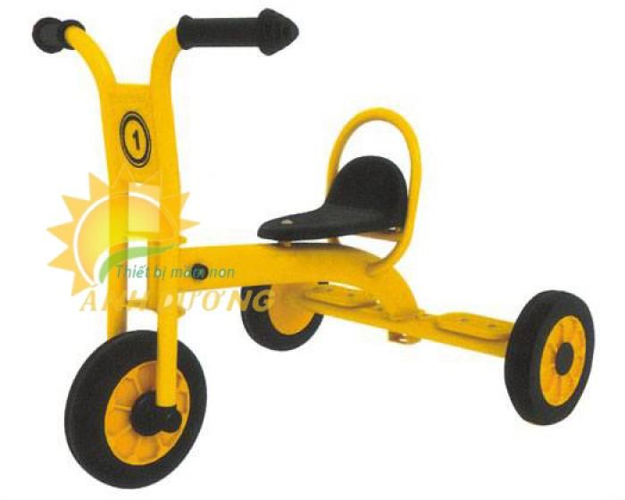 Xe đạp 3 bánh cho trẻ em mầm non tập đi giá cực SỐC10