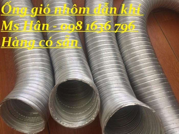 Cung cấp ống nhôm nhún - ống gió nhôm cứng giá tốt