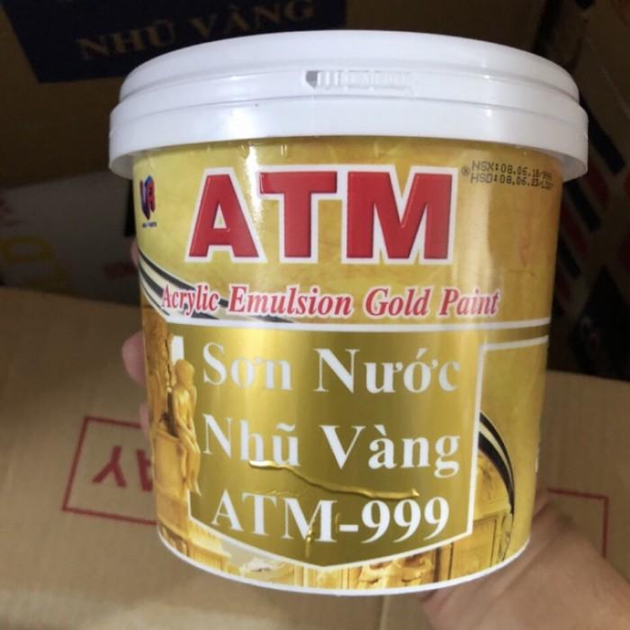 sơn nước nhũ vàng ATM 9990