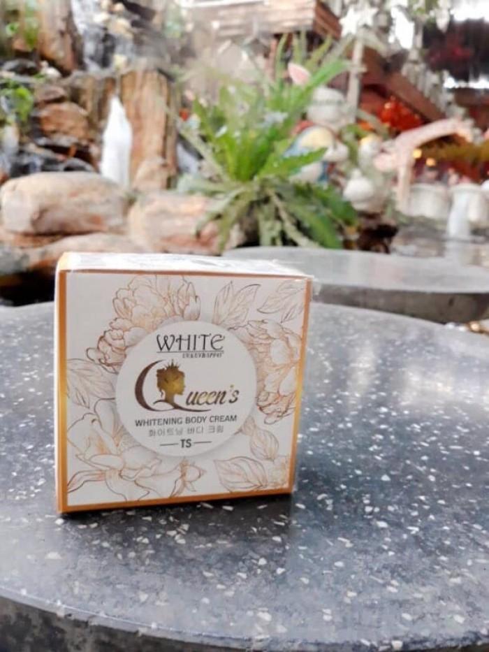 Kem dưỡng trắng body Queen's whitening body cream1