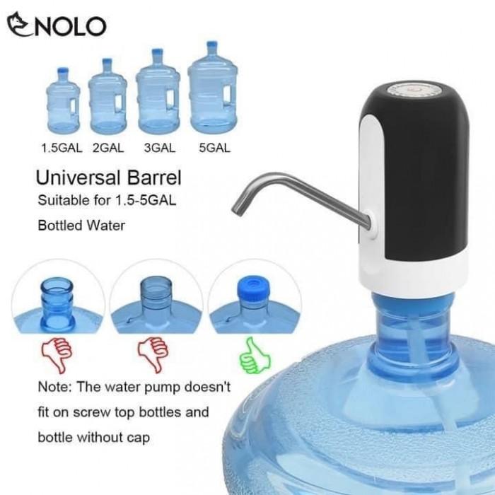 VÒI NƯỚC TỰ ĐỘNG THÔNG MINH: 130k  – Máy bơm nước khoáng từ bình - Máy hút nước mini - Máy lấy nước vẫn có thể lấy được nước khi mất điện nhờ vào nguồn pin nạp - Lưu lượng bơm: 18lít nước – Sản phẩm gồm 1 máy bơm mini, 1 vòi lấy nước Inox 304 và 1 vòi hút nước nhựa ABS – Khối lượng bộ sản phẩm: 400gr – Nguồn điện: Cổng nguồn USB  – Công suất bơm : 5W6