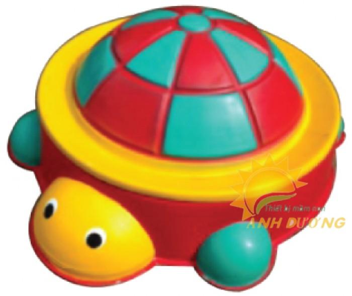 Đồ chơi bồn nghịch cát - nước hình con vật đáng yêu cho bé mầm non2