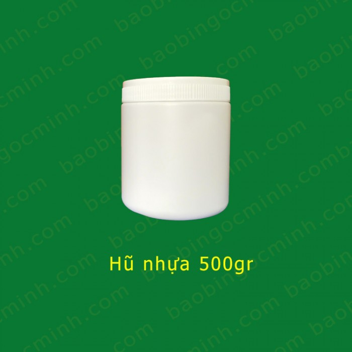 Hủ nhựa đựng bột ngũ cốc, hủ nhựa 1kg đựng phân bón.8