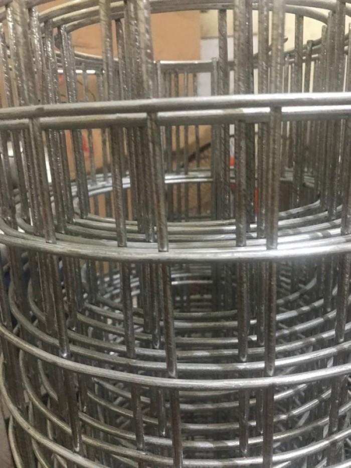 Sản xuất lưới thép hàn chập mạ kẽm Phi 4 ( 50*50),( 100*100),(150*150),( 200*0