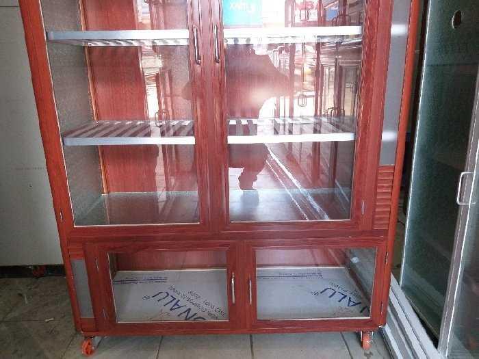Tủ nhôm kính chén bát loại cao cấp1