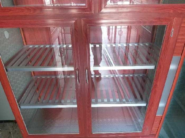 Tủ nhôm kính chén bát loại cao cấp2