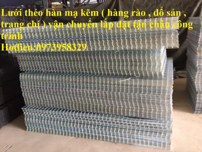 Sản xuất lưới thép hàn chập mạ kẽm Phi 4 ( 50*50),( 100*100),(150*150),( 200*1