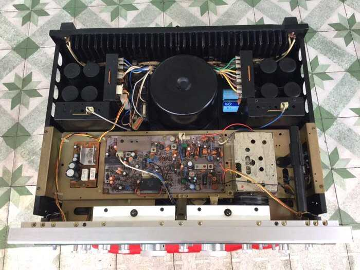 Tân Audio Biên Hoà AMPLY SANSUI G8000 (hàng đẹp zin nguyen bản) (Hàng Ship từ USA)3