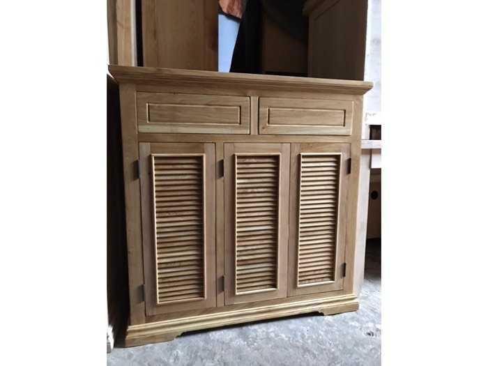 Tủ giày dep gỗ sồ mỹ 1m0