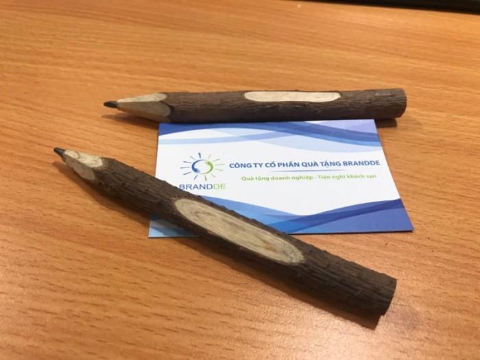 Bút chì gỗ cây tự nhiên thân thiện môi trường0