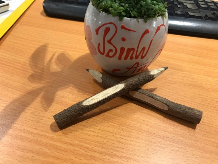 Bút chì gỗ cây tự nhiên thân thiện môi trường1